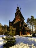 Stav Church, Norsk Folkesmuseum