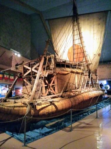 Ra, Reed boat sailed by Thor Heyerdahl