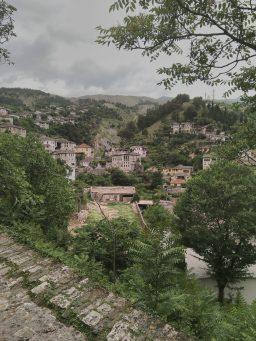 View over Gjirokastra