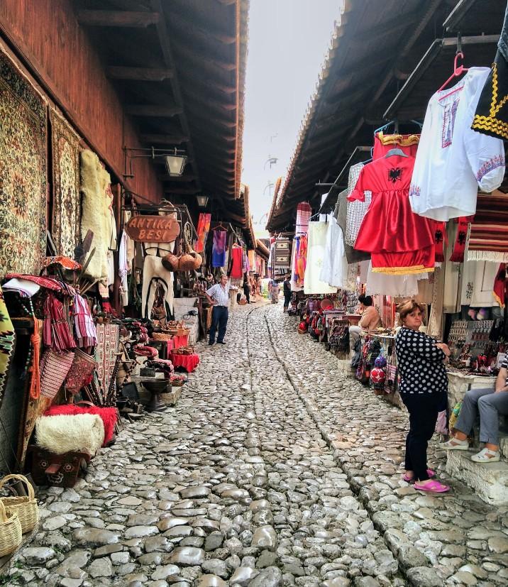 Kruje bazaar