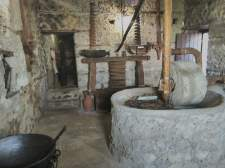 An ancient Albanian olive press