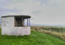 WW2 lookout post at Ballyquintin